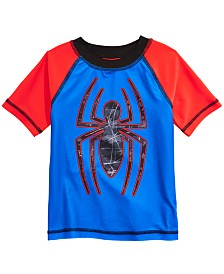 Dreamwave Toddler Boys Spider-Man Graphic Rash Guard