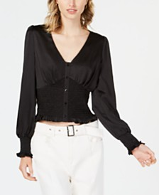 Lucy Paris Sivan Shirred Blouse