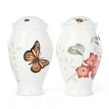 Lenox Butterfly Meadow Kitchen Salt & Pepper Shakers, Created for Macy's