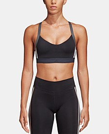 Women's All Me 3-Stripe Light-Support Sports Bra