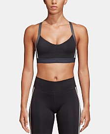 adidas All Me 3-Stripe Light-Support Sports Bra