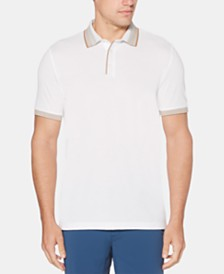 Perry Ellis Men's Ombré Collar Polo