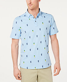 Tommy Bahama Men's Pineapple Power Classic Fit Embroidered Polo