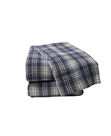 Plaid Flannel Sheet Set Queen