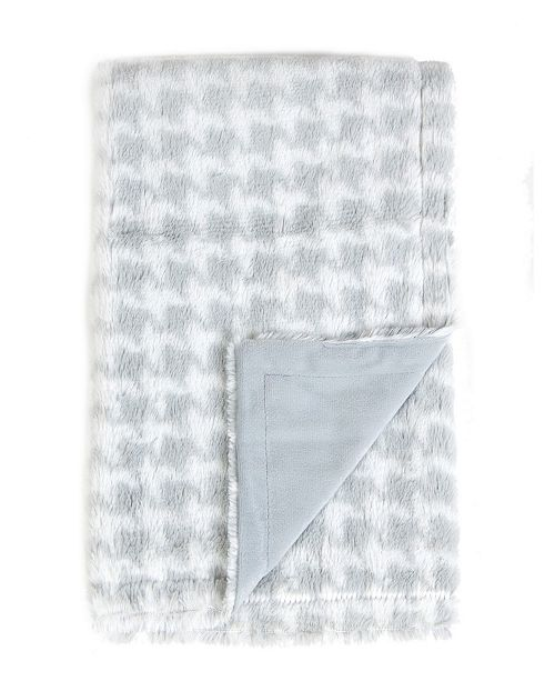 Sleeping Partners International. INC Tadpoles Plush Double Layer Baby Blanket, Houndstooth