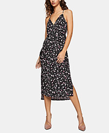 BCBGeneration Printed Column Midi Dress