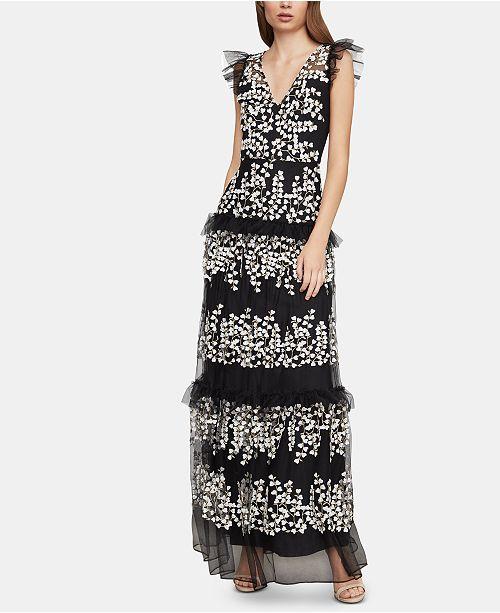 4fc6778d0e BCBGMAXAZRIA Ruffled Tulle Dress  BCBGMAXAZRIA Ruffled Tulle Dress ...