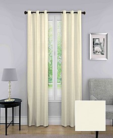 """Nikki Thermaback Blackout 40"""" x 95"""" Curtain Panel"""