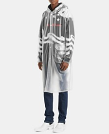 Calvin Klein Jeans Men's Transparent Raincoat