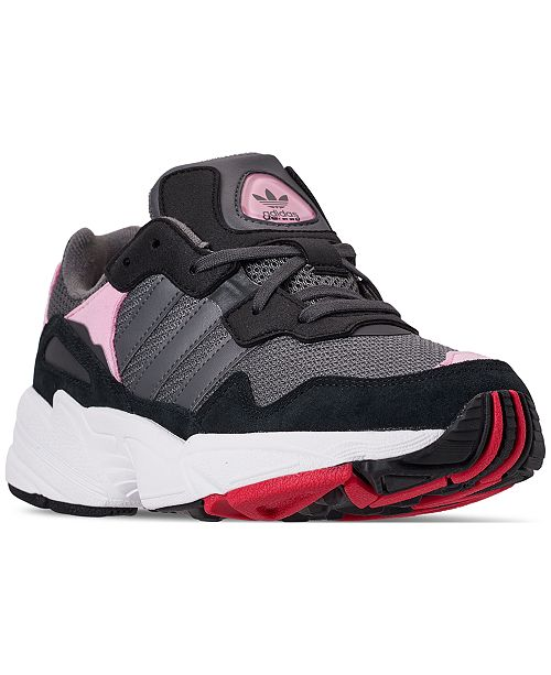 adidas Girls' Yung-96 Casual Sneakers from Finish Line