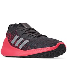 adidas Women's PureBOUNCE+ Running Sneakers from Finish Line