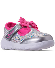 Skechers Toddler Girls' GoWalk Joy - Sugary Sweet Slip-On Casual Sneakers from Finish Line