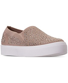 Women's Street Poppy - Studded Affair Slip-On Casual Sneakers from Finish Line
