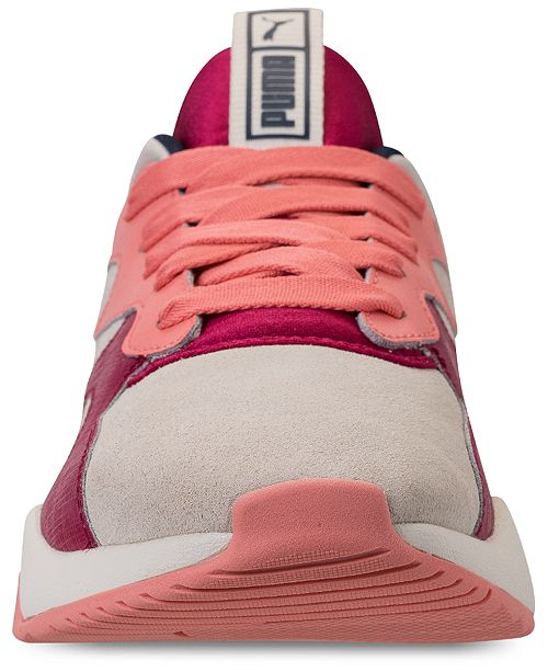 6bc452250fb Puma Women s Nova Suede Casual Sneakers from Finish Line   Reviews ...