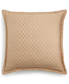 Luxe Border Gold Quilted European Sham, Created for Macy's