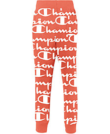 Champion Men's Giant Logo-Print Joggers
