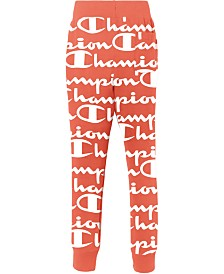 Champion Men's C-Life Giant Logo-Print Joggers