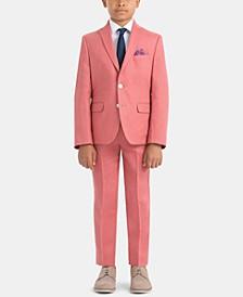Little & Big Boys Spring Linen Suit Jacket & Pants Separates