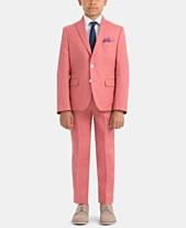 947191813 Lauren Ralph Lauren Little & Big Boys Spring Linen Suit Jacket & Pants  Separates