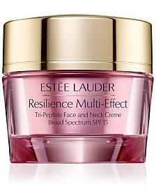 Estée Lauder Resilience Multi-Effect Tri-Peptide Face & Neck Creme - Dry Skin, 1.7-oz.
