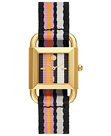 Women's Phipps Multicolor Grosgrain Strap Watch 29mm