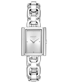 DKNY Women's Uptown Stainless Steel Bracelet Watch 21x24mm