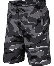 Men's Sportswear Camo Fleece Shorts