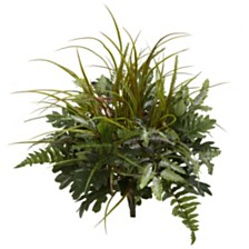 "Nearly Natural 28"" Mix Greens Artificial Plant, Set of 2"