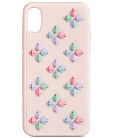 kate spade new york Spade Flower Silicone iPhone XS Case