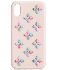 kate spade new york Spade Flower Silicone iPhone XR Case