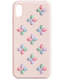 kate spade new york Spade Flower Silicone iPhone XS Max Case