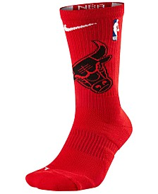 Nike Men's Chicago Bulls Elite Team Crew Socks