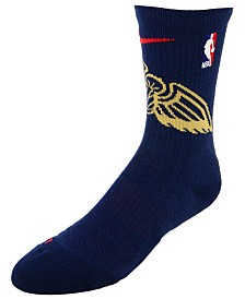 Nike Men's New Orleans Pelicans Elite Team Crew Socks