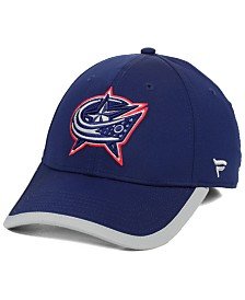 Authentic NHL Headwear Columbus Blue Jackets Clutch Speed Flex Stretch Fitted Cap