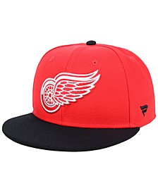Detroit Red Wings Basic Fan Fitted Cap