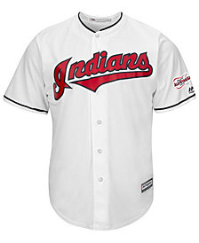 Majestic Men's Cleveland Indians 2019 All Star Game Patch Cool Base Jersey