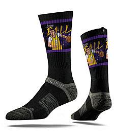 Strideline Los Angeles Lakers Lonzo Ball Action Crew Socks