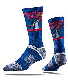 Strideline Philadelphia 76ers Ben Simmons Action Crew Socks