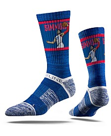 Strideline Philadelphia 76ers Ben Simmons Action Crew Socks