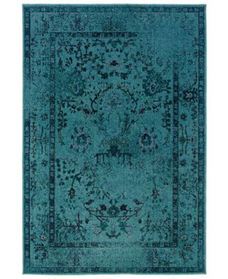 "CLOSEOUT! Area Rug, Revamp REV7550 9'10"" x 12'10"""