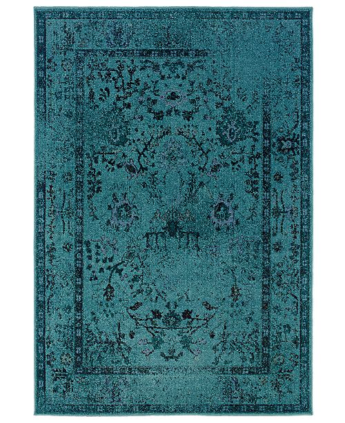 "Oriental Weavers CLOSEOUT! Area Rug, Revamp REV7550 5'3"" x 7'6"""