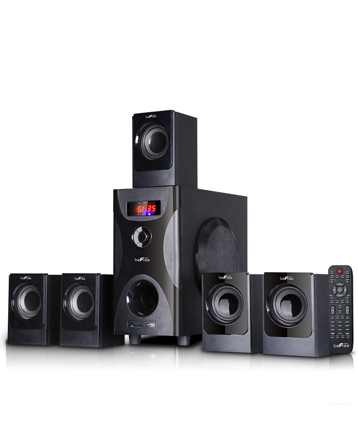 BeFreeSound - 5.1 Channel Surround Sound Bluetooth Speaker System