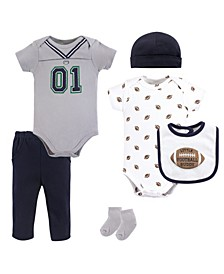 Baby Layette Set, Football Jersey