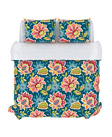 Callaway Duvet Cover Set, Full/Queen, Azure