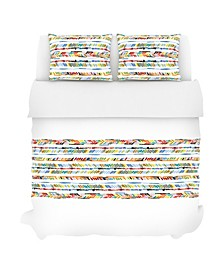 Crosby Duvet Set, Full/Queen, Prism