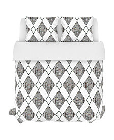 Safari Duvet Set, King, Multi