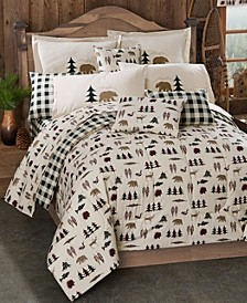 True Grit Northern Exposure Queen Comforter Set