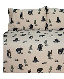 Blue Ridge Trading The Bears King Sheet Set