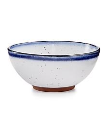 Lucky Brand Blue Edge Breakfast Bowl