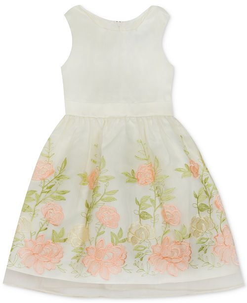 d8ee57288a978 Rare Editions Matching Sister Dress Toddler, Little & Big Girls 2-Pc.  Floral ...
